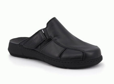 Flip double adjustable leather velcron